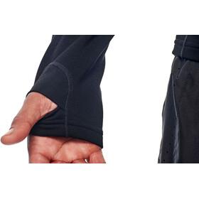 Icebreaker Tracer LS Zip Shirt Men black/monsoon